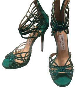 Jimmy Choo Emerald green Formal