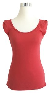 C&C California Basic Everyday Comfortable T Shirt Red