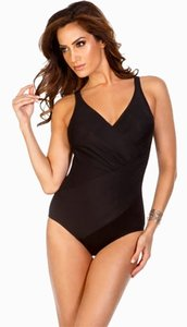 Reebok Reebok Black One-Piece Bathing Suit