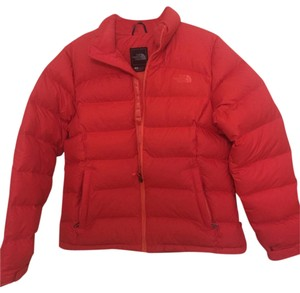 The North Face Red Puffer Coat