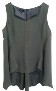 Lafayette 148 New York Top Gray