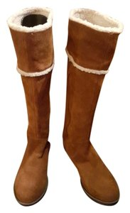 BC Footwear Leather Suede Brown Boots