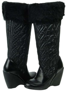 Report Signature Winter Ski Quilted black Boots