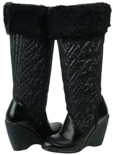 Preload https://img-static.tradesy.com/item/132215/report-signature-black-all-weather-quilted-leather-bootsbooties-size-us-85-0-0-540-540.jpg