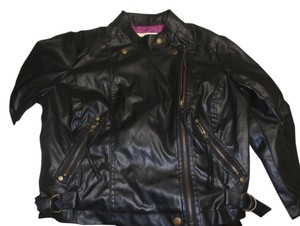 Wet Seal Size L Leather Jacket
