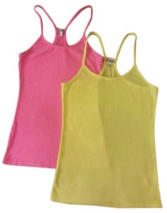 Express Rac Racer-back Top Neon