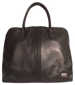 Perlina Leather Briefcase Travel Laptop Bag