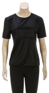 Chanel T Shirt Black