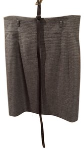 Gianni Bini Suit Work Evening Lined Skirt Brown