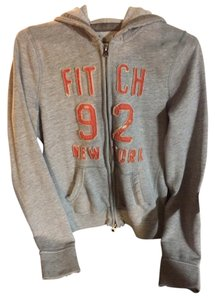 Abercrombie & Fitch Grey Pink Chanel Sweatshirt
