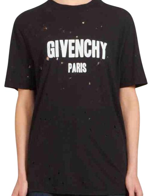 Givenchy distressed tee t shirt 39 off retail Givenchy t shirt price