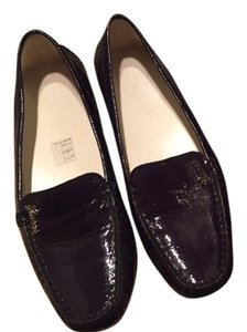 Gucci Patent Leather Driver Purple Flats