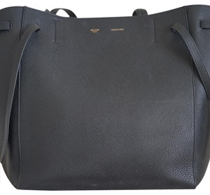 Céline Cabas Phantom Tote in black