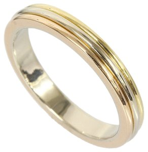 Cartier Cartier Trinity Wedding Band 18k Three Gold Ring B4052266