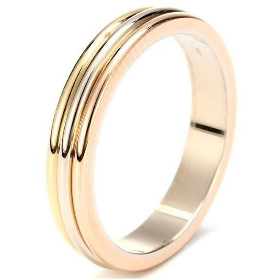 Cartier yellow gold rose gold white gold trinity wedding band 18k cartier yellow gold rose gold white gold trinity wedding band 18k b4052266 ring from jtradingllc on tradesy junglespirit Image collections
