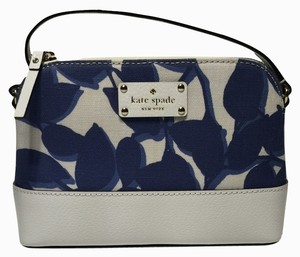 Kate Spade Wellesley Leaves Fabric Hanna Leaves Cross Body Bag