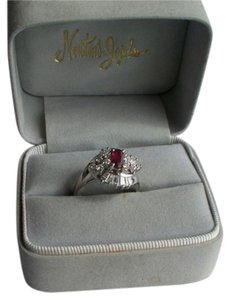 Diamond and Ruby dinner Ring