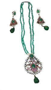 Finest quality Semi Precious stones and American Diamond Set