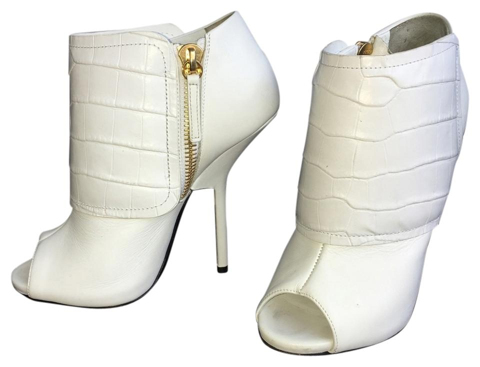 f9e727e96af78 Giuseppe Zanotti White Boots/Booties Size US 7 Regular (M, B) 41% off retail