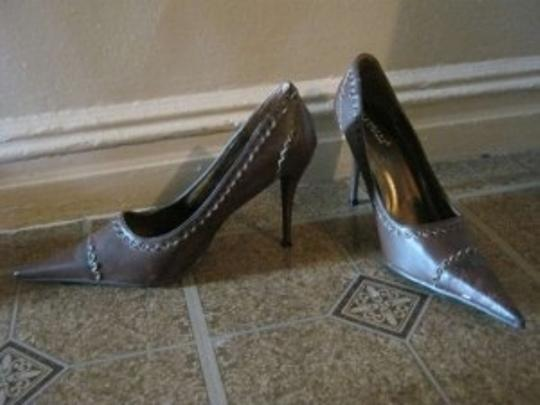 Rasolli Brown Pumps