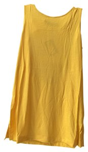 Love Moschino Bow Back Top Yellow