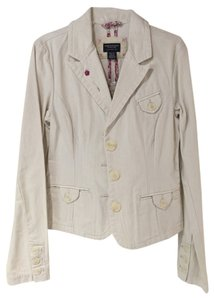 American Eagle Outfitters Ivory Blazer