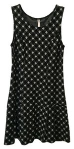 Xhilaration Checkered Print Cotton Summer Dress