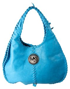 Michael Kors Leather Hobo Bag