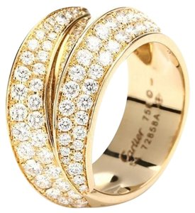 Cartier Cartier Griffe Ring 18K Yellow Gold with Diamond