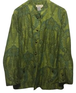 Coldwater Creek Multi green Blazer