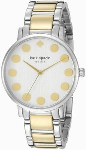 Kate Spade Kate Spade Women's Silver Tone Analog watch 1YRU0738