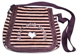 Juicy Couture Pink and brown Messenger Bag