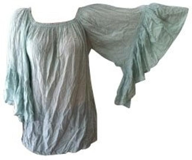 Preload https://item4.tradesy.com/images/indah-teal-blouse-size-0-xs-1323-0-0.jpg?width=400&height=650