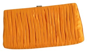 J.Crew Silk Orange Clutch