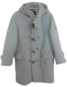 Navy Department Fly 3 Italy Pastel Duffle Toggle Coat