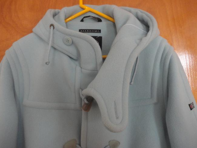 Navy Department Fly 3 Italy Pastel Duffle Warm Vintage Coat