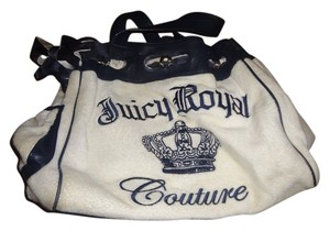 Juicy Couture Tote in white and blue