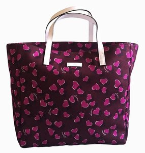 Gucci Purple Pink Bordeaux Tote in Purple/Pink