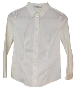 Prada Button Down Shirt off white