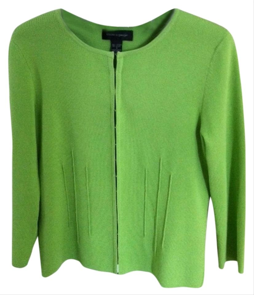 Cable & Gauge Green Sweater/Pullover Size 4 (S) - Tradesy