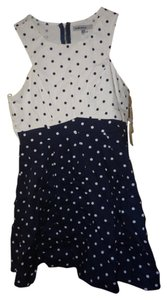 Charlotte Russe short dress blue and white on Tradesy
