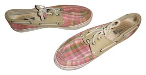 Sperry pink plaid Athletic