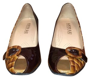 Anyi Lu Brown Pumps