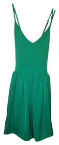 Francesca's short dress green on Tradesy