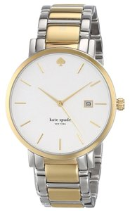 Kate Spade Kate Spade Women's Gramercy Silver Analog Watch 1YRU0108
