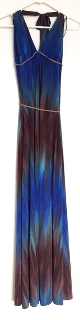 Blue and brown Maxi Dress by Ruby Rox Image 1
