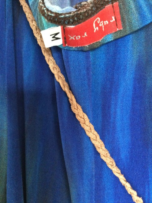 Blue and brown Maxi Dress by Ruby Rox Image 3