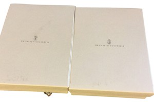 Brunello Cucinelli Lot Of 2 Brunello Cucinelli Gift Storage Boxes.