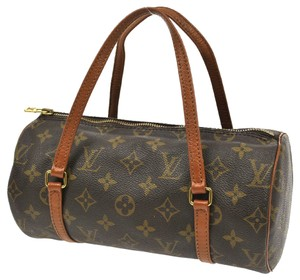Louis Vuitton Papillon Pouch 26 30 Satchel