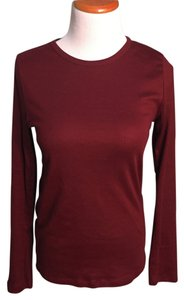 Gap T Shirt Maroon